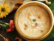 Paal Payasam Индийско мляко с ориз с кондензирано мляко и масло Гий